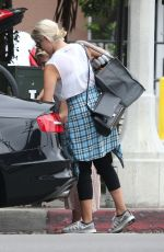 DIANNA AGRON Out in West Hollywood 2009