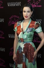 DITA VON TEESE at Von Follies Lingerie Launch in New York