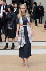 DONNA AIR at Burberry Prorsum Fashion Show in London