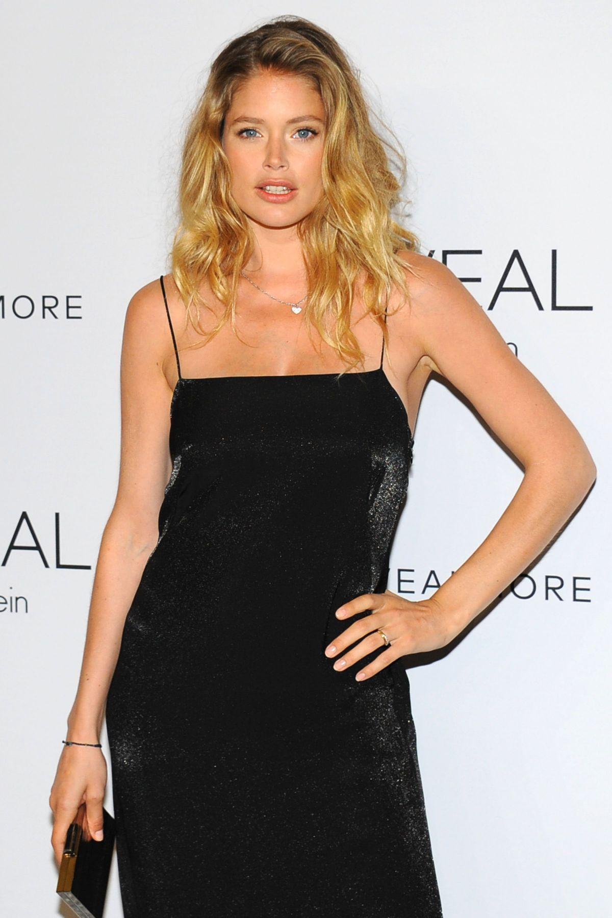 DOUTZEN KROES at Reveal Calvin Klein Fragrance Launch in New York