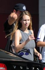 DYLANN PENN Out and About in Los Angeles