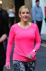 ELIE GOULDING at a Nike Commercial in London