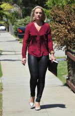 ELISABETH ROHM Out and About in Santa Monica