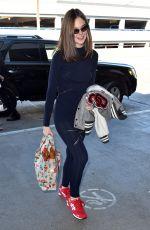 ELLE FANNING Arrives at Los Angeles International Airport 2109