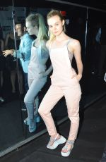 ELLE FANNING at 100% Lost Cotton Opening Ceremony in New York