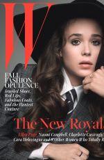 ELLEN PAGE in W Magazine, October 2014 Issue