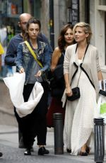 ELSA PATAKY and Friends Out Shopping in Madrid