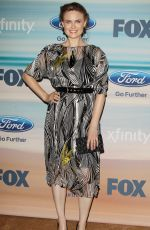 EMILY DESCHANEL at Fox Fall Eco-casino 2014 Party in Santa Monica