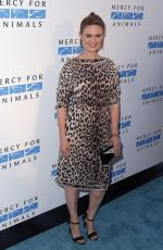 EMILY DESCHANEL at Mercy for Animals 15th Anniversary Gala in West Hollywood