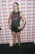 EMILY MEADE at Barbie and CFDA Event in New York