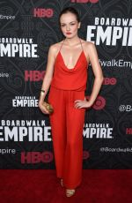 EMILY MEADE at Boardwalk Empire Season 5 Premiere in New York