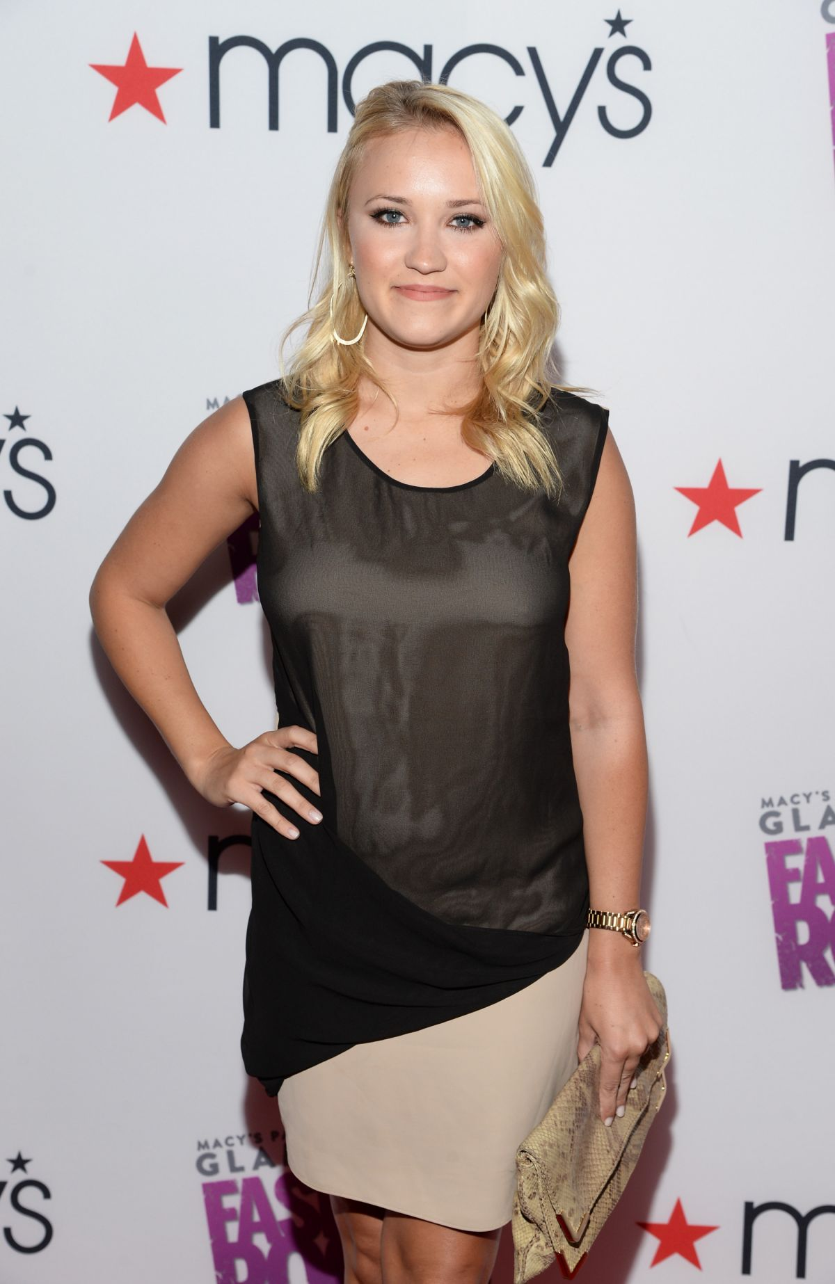 EMILY OSMENT at Glamorama Fashion Rocks Event in Los Angeles