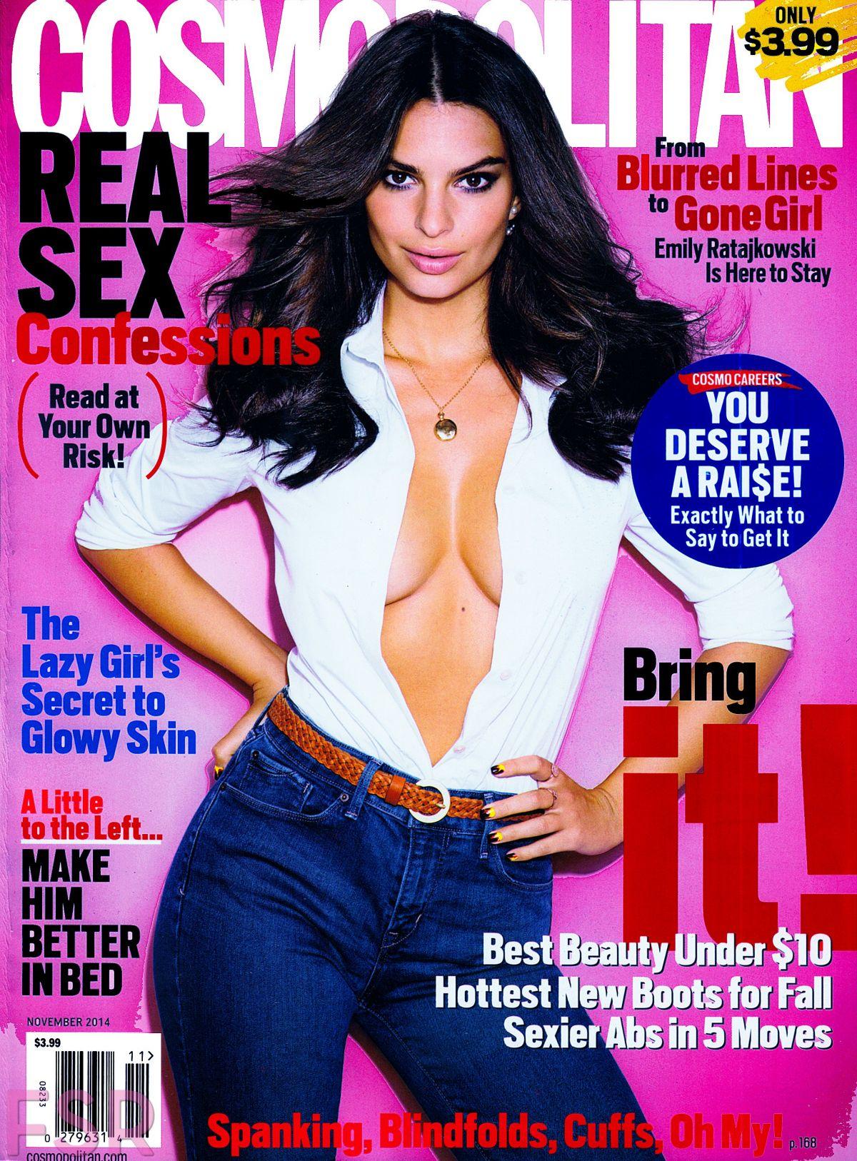 EMILY RATAJKOWSKI in Cosmopolitan Magazine, November 2014 Issue