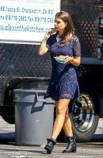 EMILY RATAJKOWSKI on the Set of We Are Your Friends in Los Angeles 2509