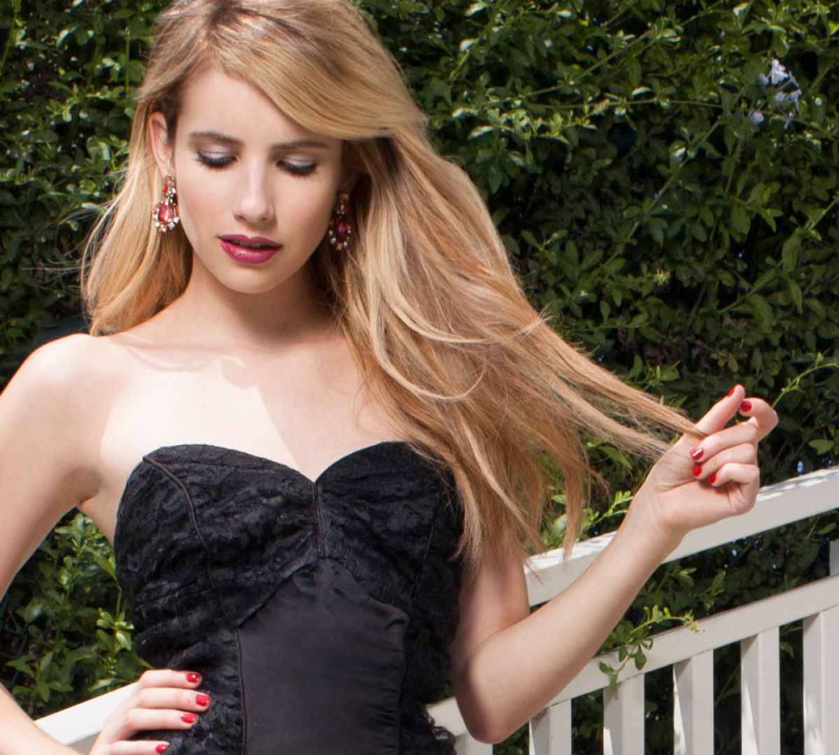EMMA ROBERTS - Baublebar Collection Photoshoot - HawtCelebs ...