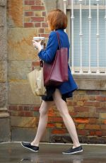 EMMA STONE Out and About in New York 1609