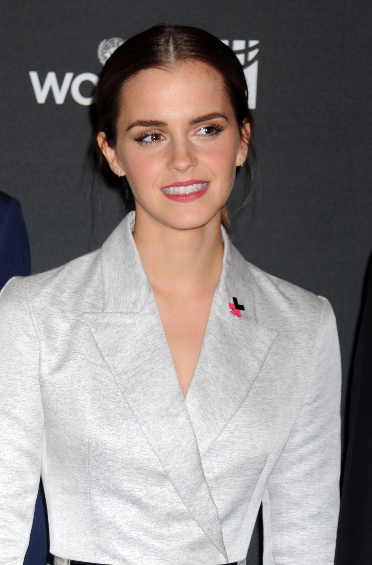EMMA WATSON at Heforshe Campaign Launch at The United Nations in New York
