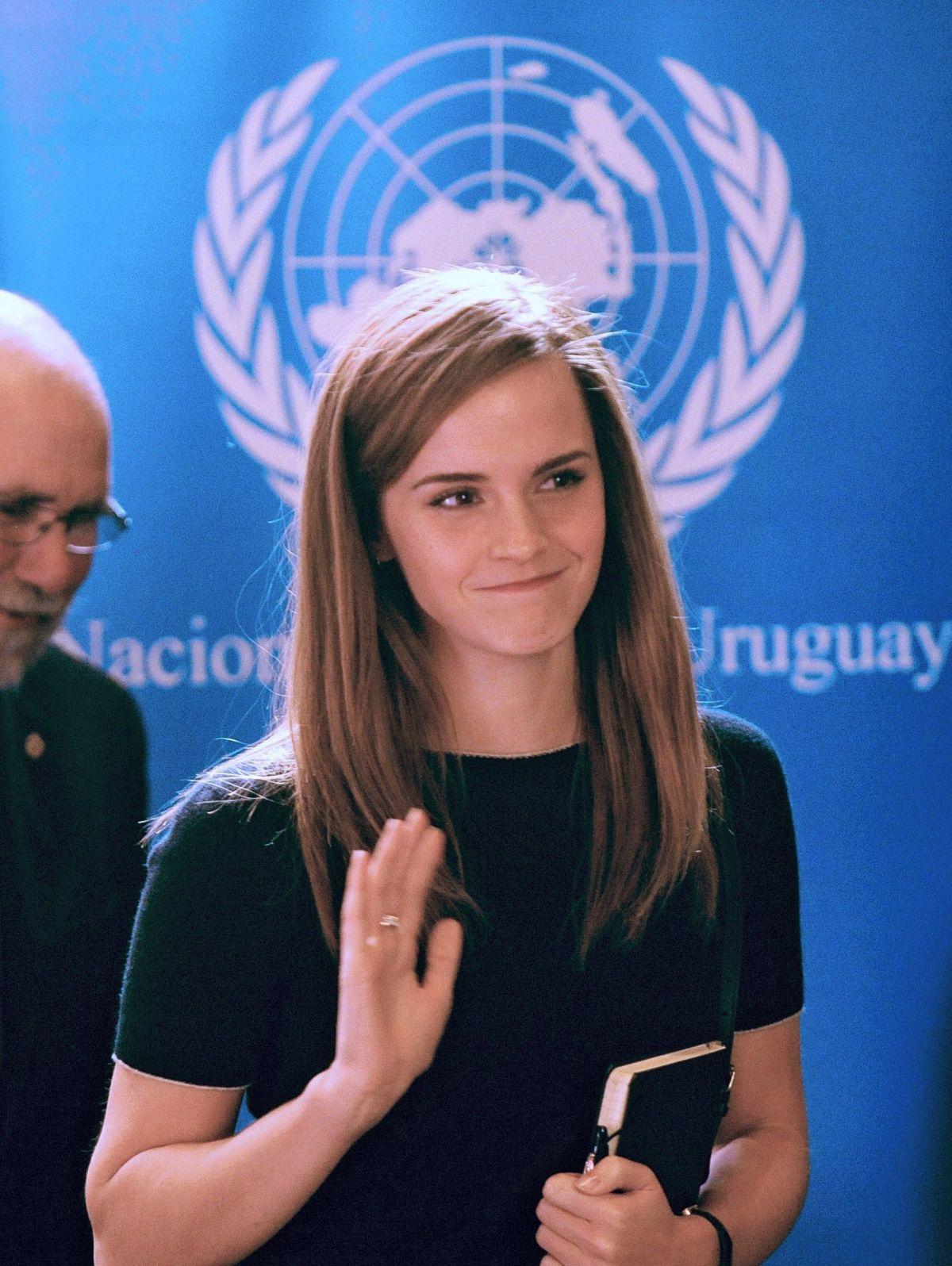 Emma watson at un women event in montevideo uruguay hawtcelebs