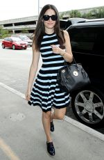EMMY ROSSUM Arrives at LAX Airport in Los Angeles 0409