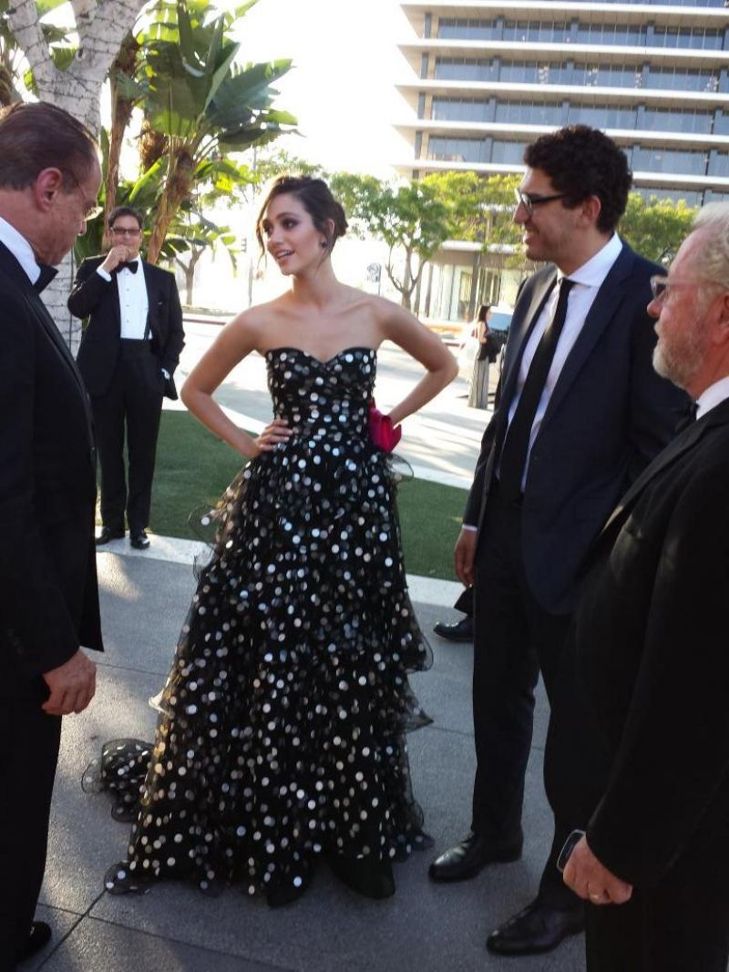 EMMY ROSSUM at Opera Ball in Los Angeles