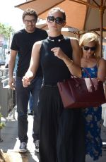 EMMY ROSSUM Out for Lunch in Beverly Hills