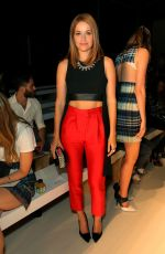 ERICA PICCININNI at Marissa Webb Fashion Show in New York