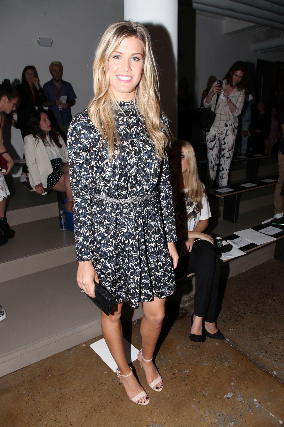EUGENIE BOUCHARD at Cushnie Et Ochs Fashion Show in New York