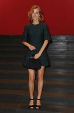 EVA HERZIGOVA at Dolce & Gabbana Fashion Show in Milan