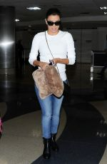 EVA LONGORIA Arrives at LAX Airport in Los Angeles 2409