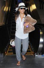 EVA LONGORIA at LAX Airport in Los Angeles 0909