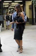 EVA LONGORIA Leaves Four Seasons Hotel in New York 0809