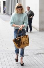 FEARNE COTTON Arrives at BBC Radio 1 Studios in London 0109