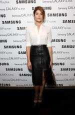 GEMMA ARTERTON at Samsung Galaxy Alpha Launch Party in London