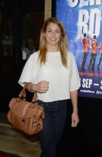 GEMMA ATKINSON Jersey Boys Press Night in Manchester