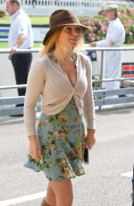 GERI HALLIWELL at Goodwood Revival 2014