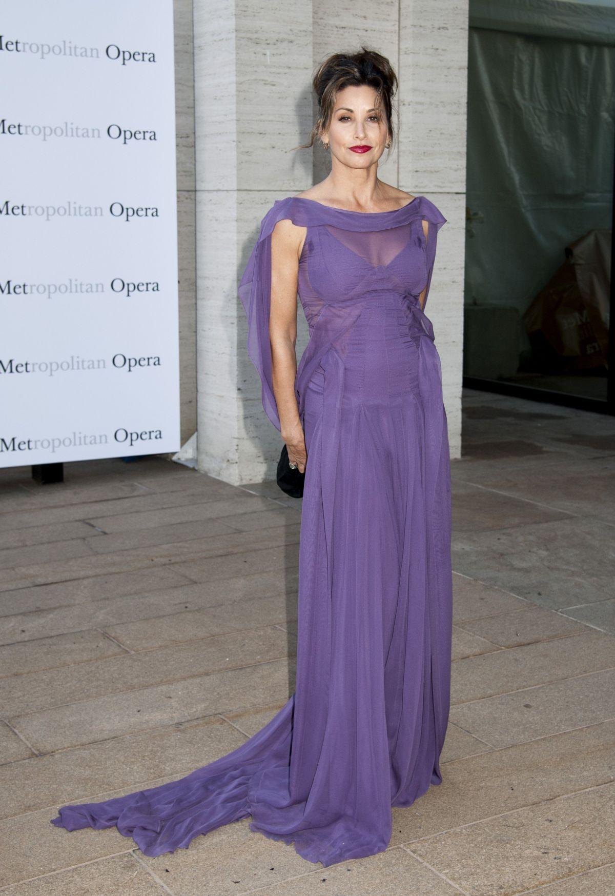 GINA GERSHON at Metropolitan Opera Season Opening in New York