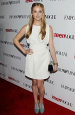 GREER GGRAMMER at at 2014 Teen Vogue Young Hollywood Party in Beverly Hills