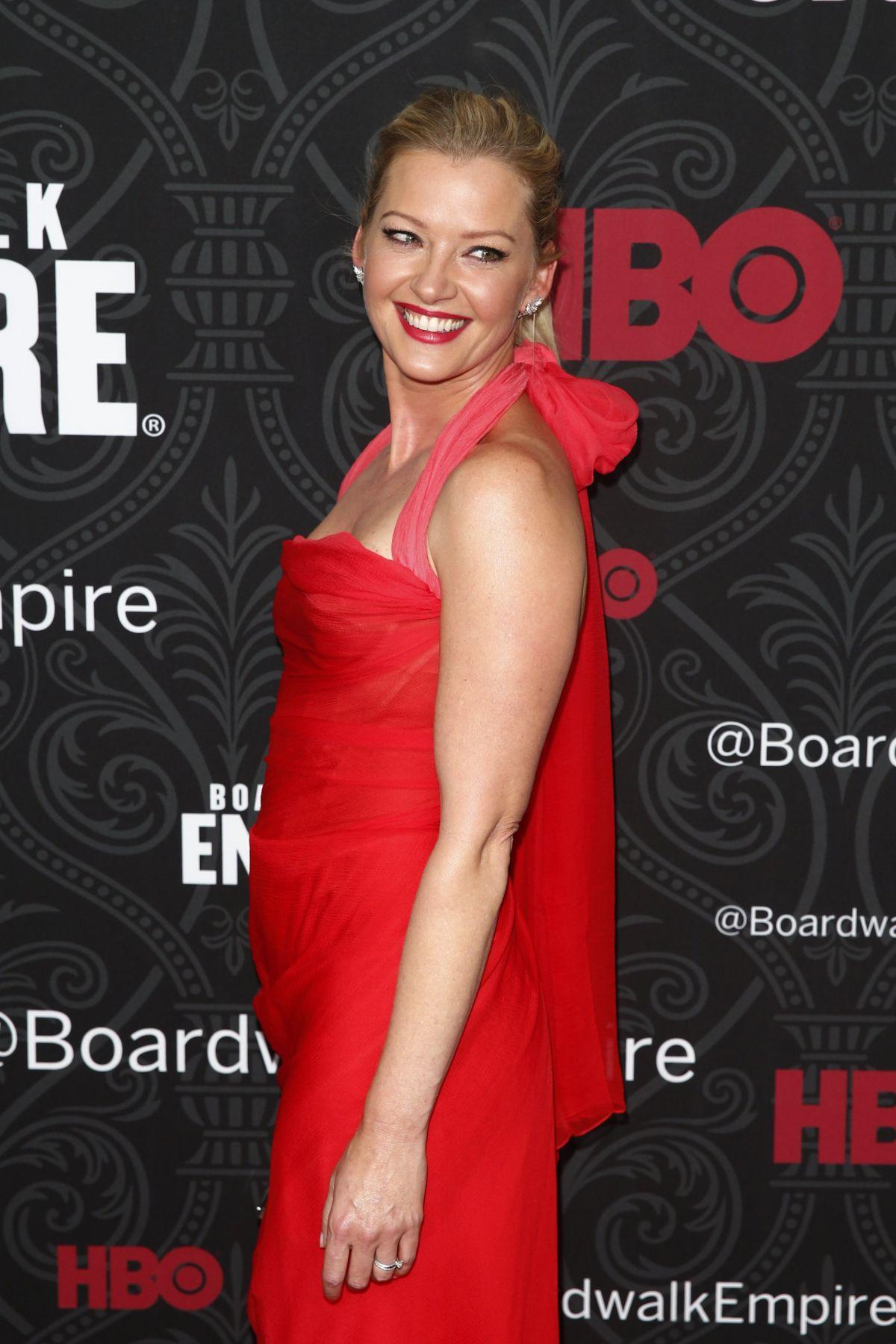GRETCHEN MOL at Boardwalk Empire Season 5 Premiere in New York