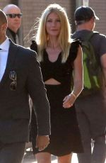 GWYNETH PALTROW Arrives at Jimmy Kimmel Live! in Hollywood