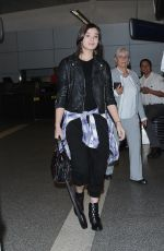 HAILEE STEINFELD Arrives at Los Angeles International Airport