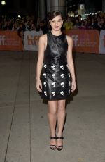 HAILEE STEINFELD at The Riot Club Premiere in Toronto