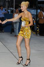 HAILEY BALDWIN at Fashion Media Awards in New York
