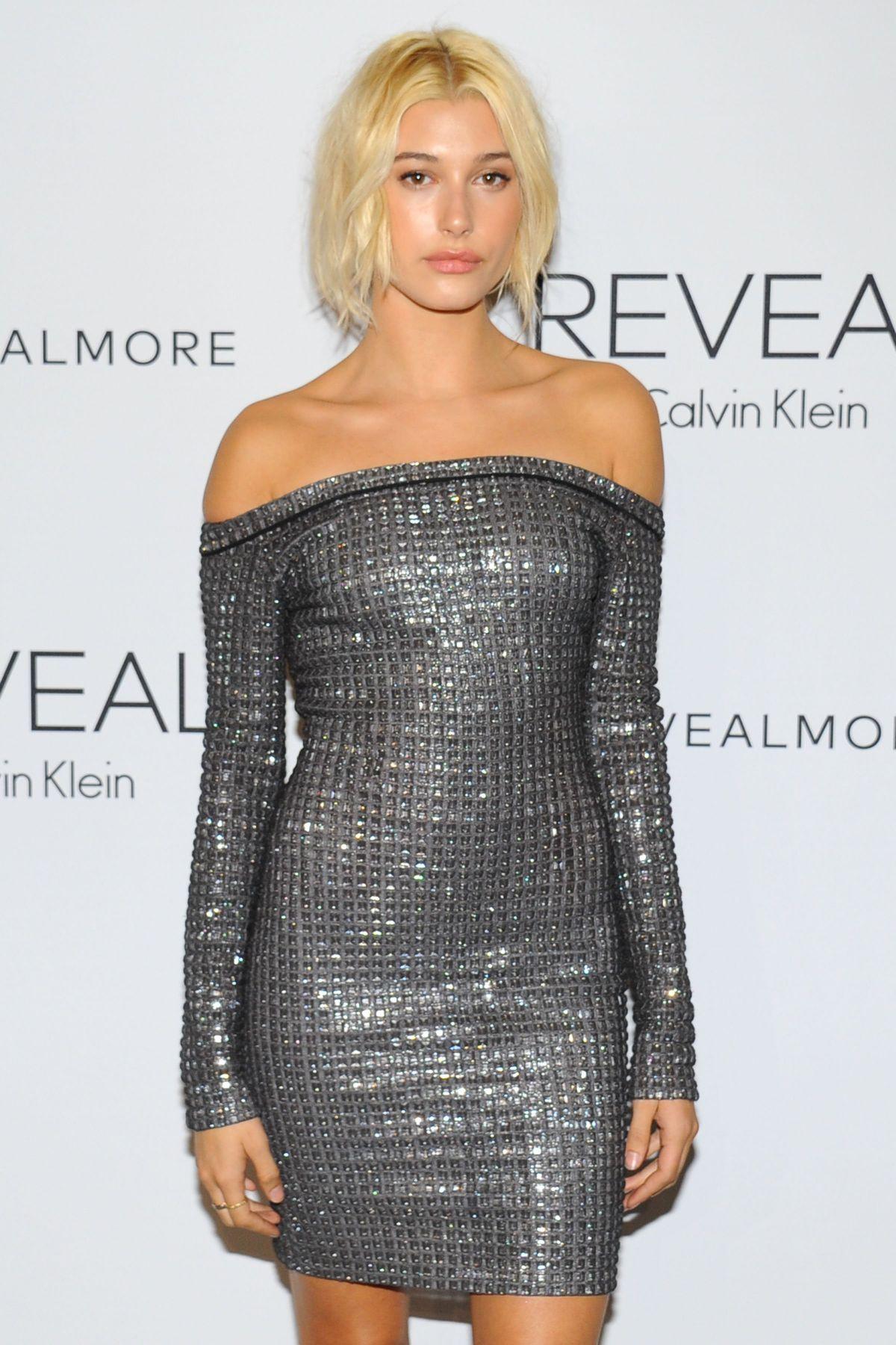 HAILEY BALDWIN at Reveal Calvin Klein Fragrance Launch in New York
