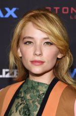 HALEY BENNETT at The Equalizer Premiere in new York
