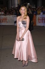 HALEY BENNETT at The Equalizer Premiere in Toronto