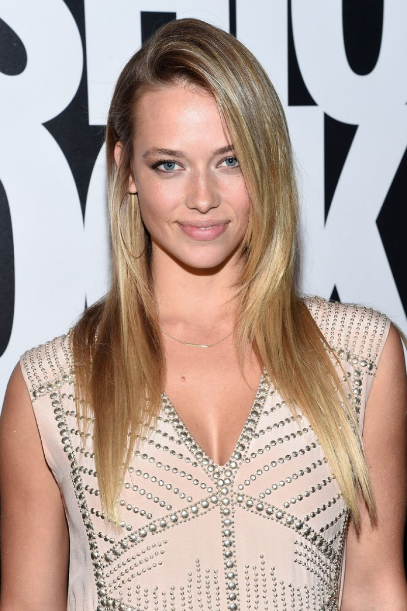 HANNAH FERGUSON at Fashion Rocks 2014 in New York