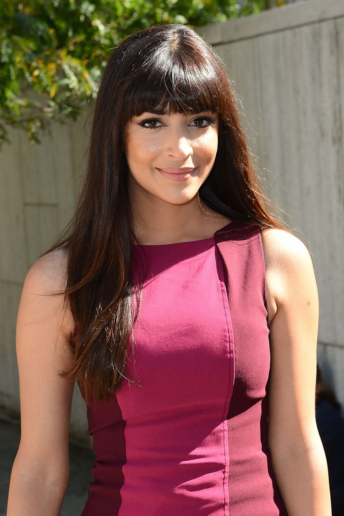 HANNAH SIMONE at Bcbgmaxazria Fashion Show in New York
