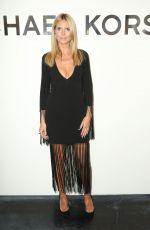 HEIDI KLUM Michael Kors Fashion Show in New York