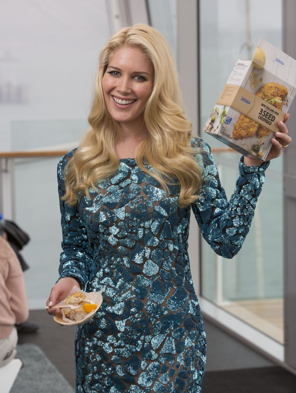 HEIDI MONTAG at Sealord Commercial Set in Auckland