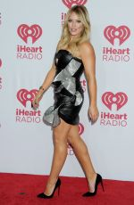 HILARY DUFF at 2014 Iheartradio Music Festival in Las Vegas